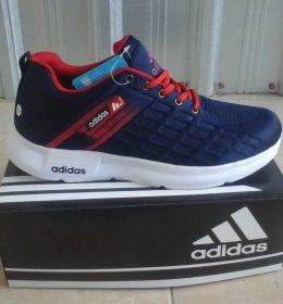 Sepatu KW Sneakers Adidas Navy Red