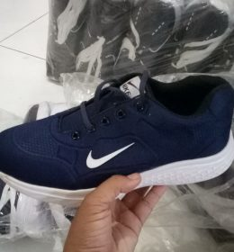 Sepatu Kw Sneakers Nike Navy Color