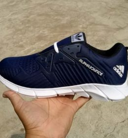 Sepatu Sneakers Adidas Blue Navy Color