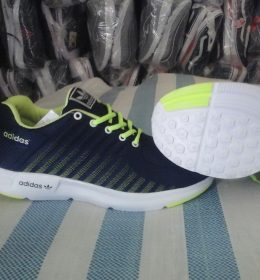Sepatu Sneakers Adidas Neon Yellow Color