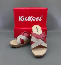 Sandal Murah Untuk Wanita Wedges Kickers Red Color