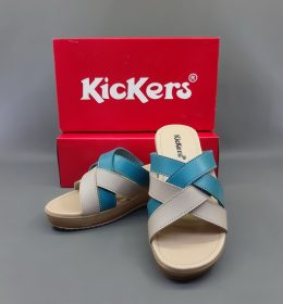 Sandal Wanita Kickers Model Wedges Mahal