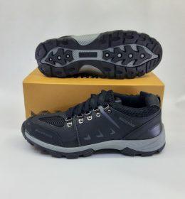 Sepatu Beckham Adventure Pendek Hitam Abu
