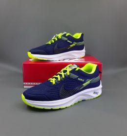 Sepatu Nike KW Spesial Navy Green Light