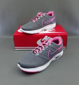 Sepatu Sneakers Nike Grey Pink Color
