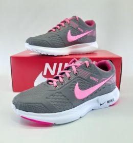Sepatu Sneakers Wanita Grey Pink Color