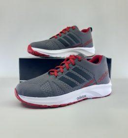 Sepatu Sneakers Adidas Grey Red Termurah