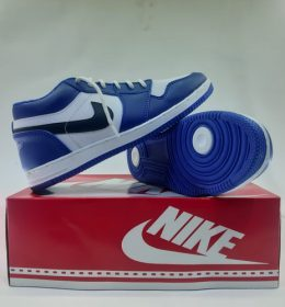 sepatu air jordan Blue Pendek